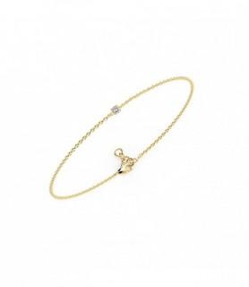 Bracelet diamant Or jaune 18 carats 0