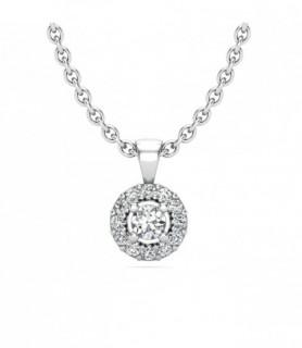 Pendentif diamant Or blanc 18 carats 0