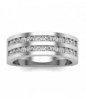 alliance diamant femme