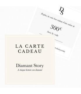 Carte cadeau bijoux 300 euros