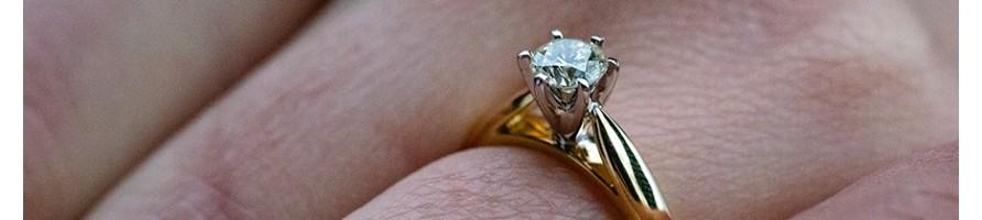 Solitaire diamant  - diamant-story.com