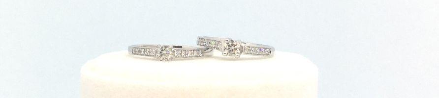 Solitaire diamant accompagné - diamant-story.com