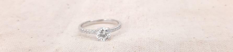 Solitaire diamant 1 carat