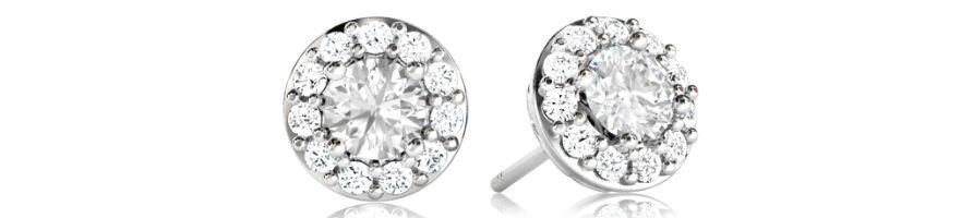 Boucles d'oreilles diamant - diamant-story.com