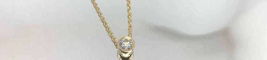 Pendentif-diamant-Or-jaune